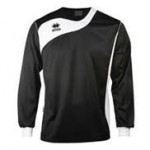 Errea Long  Sleeve Black/White 'Tonic' Shirt Set