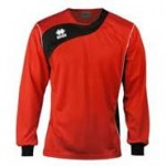 Errea Long Sleeve Red/White 'Tonic' Shirt Set
